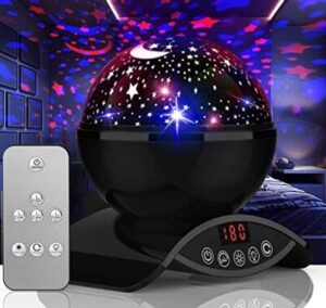 night light projector with timer for adults