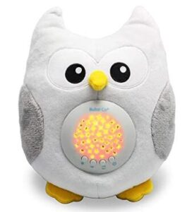 toy owl night light projector with ambient light