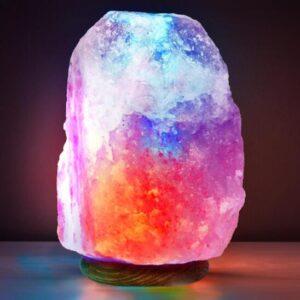 himalayan salt rock lamps design