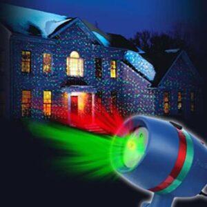 indoor and outdoor star rain night light projector