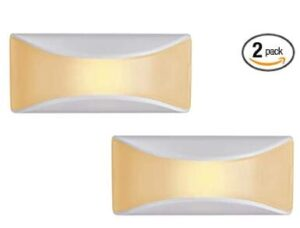 2 pack battery powered dusk to dawn night light for home