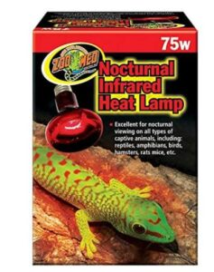 zoo med night heat lamp for leopard gecko review