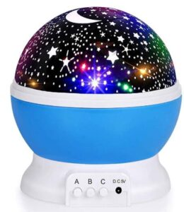 best selling rotating star night lamp for baby room