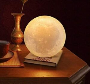 moon night light with remote