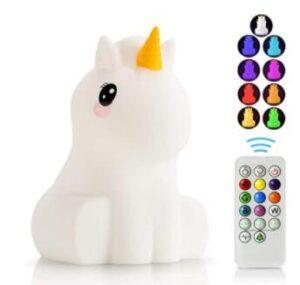 rechargeable unicorn night light