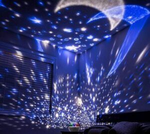 night time star projector