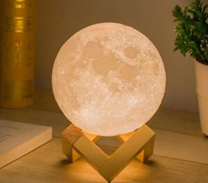 touch control moon night light