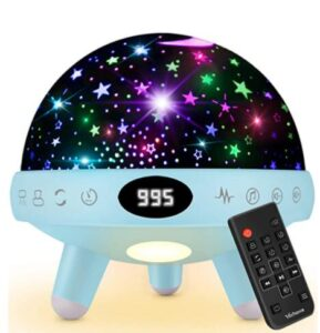 musical star projector baby night light