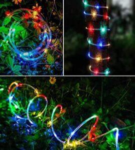 solar christmas rope lights