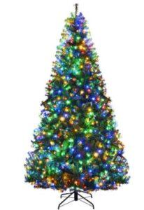 high quality pre lit christmas trees