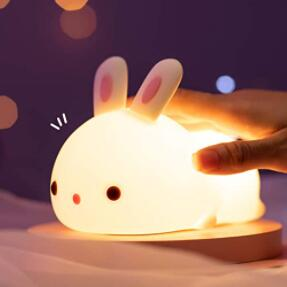 kawaii nursery night light for breastfeeding baby