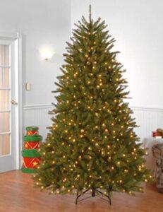best 7.5 ft pre lit christmas tree