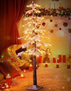 best slim pre lit christmas trees