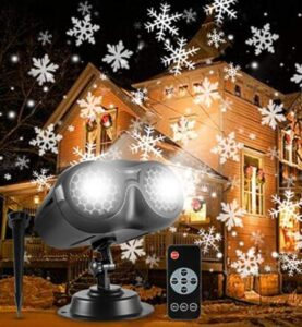 led lightshow projection christmas