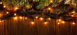 solar powered christmas wreath lights
