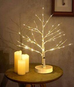 warm white indoor christmas tree lights