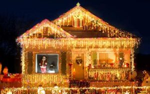 houses with best christmas lights