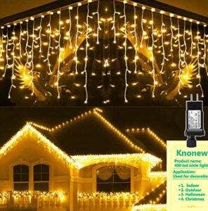 best led icicle christmas lights