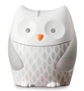 owl night light sound machine