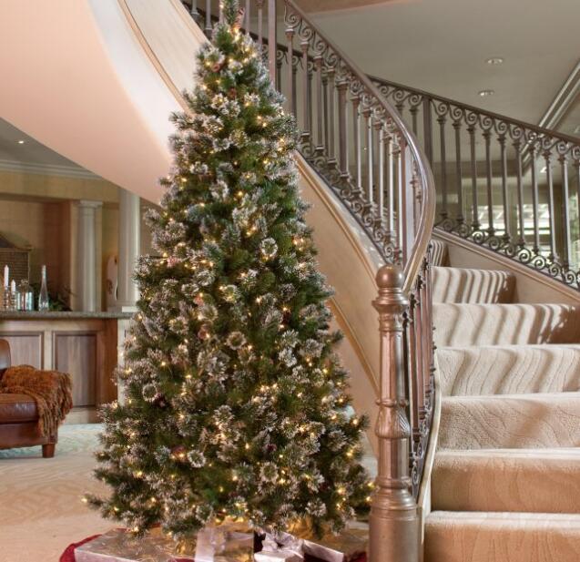best pre lit pencil christmas tree