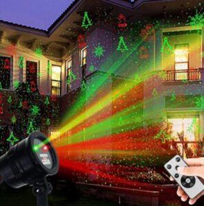 christmas light projector wireless