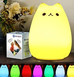 easy to carry on rechargeable night light