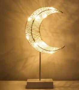 half moon night light for nightstands