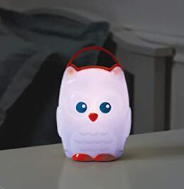 battery powered night light for travel
