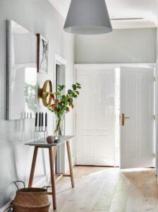 how to brighten up a dark hallway with no windows