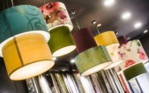 how to clean fabric lamp shades