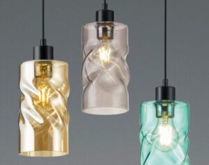 how to clean glass lamp shades