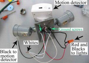 how to install light sensor on outdoor light