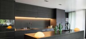 how to position spotlights in kitchen