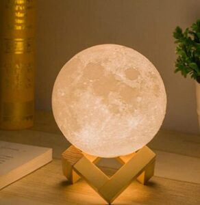 hanging and tabletop moon night light