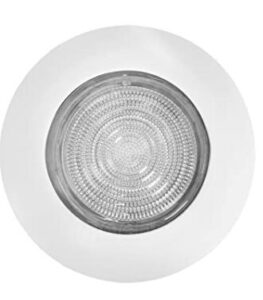 recessed light above shower