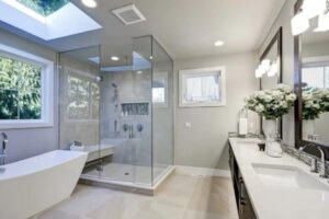 bathroom shower recessed light
