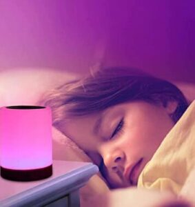 touch sensitive night light for travel