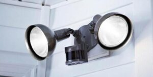 how to fit a motion sensor light