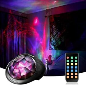 soaiy baby night light projector with music